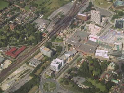A view of Basingstoke