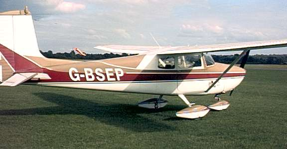 Side view of G-BSEP