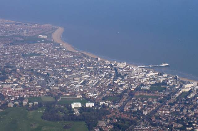 View of Eastbourne