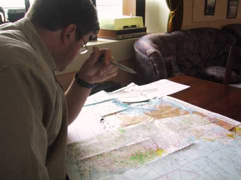Mark - flight planning while nursing a headache