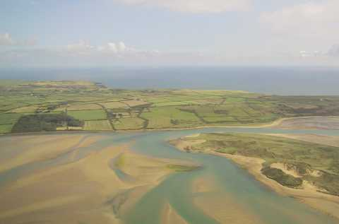 A view of the coast near Waterford